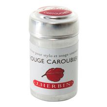 J.herbin Ink Cartridge - Rouge Caroubier