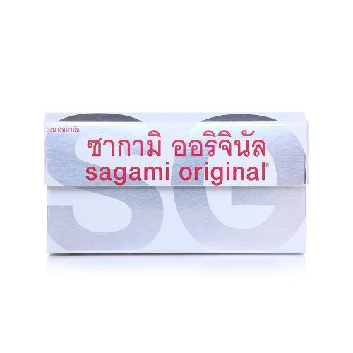 ถุงยางอนามัย Sagami Original 0.02 แพ็ค 6 ชิ้น Size M (แบบกล่อง)