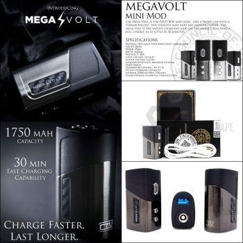 Mega Volt 80W TC Box : by The Council of Vapor  .