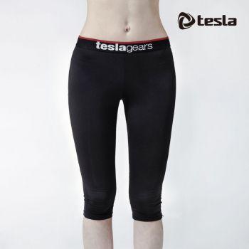 กางเกงสามส่วนสุภาพสตรีกระชับกล้ามเนื้อ TM-WP15-BLK