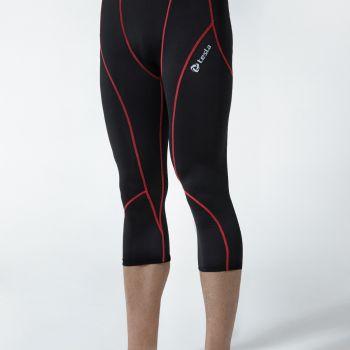 กางเกงห้าส่วนกระชับกล้ามเนื้อ TM-P15-BKR