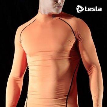 เสื้อแขนยาว Mock Neck TM-T11-ORK