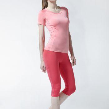เสื้อกระชับกล้ามเนื้อสุภาพสตรีแขนสั้น TM-WR13-PNK