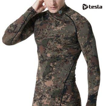 เสื้อคอ Mock Neck แขนยาวกระชับกล้ามเนื้อ TM-T11-PCK