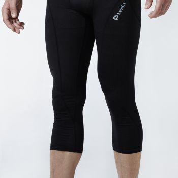 กางเกงห้าส่วนกระชับกล้ามเนื้อ TM-P15-BLK