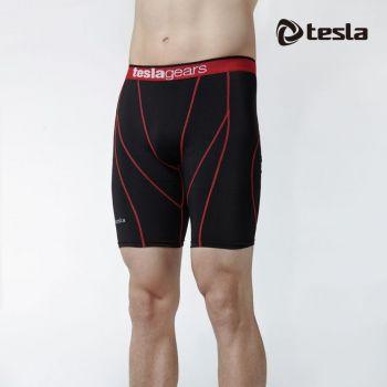 กางเกงขาสั้นกระชับกล้ามเนื้อ TM-S17-BKR