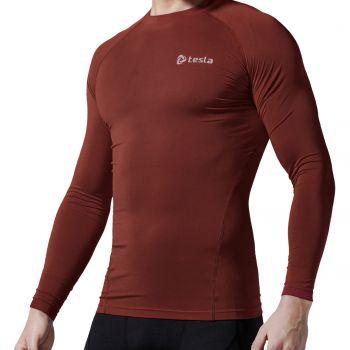 {Z Series} เสื้อแขนยาวกระชับกล้ามเนื้อ TM-R11-BRKZ