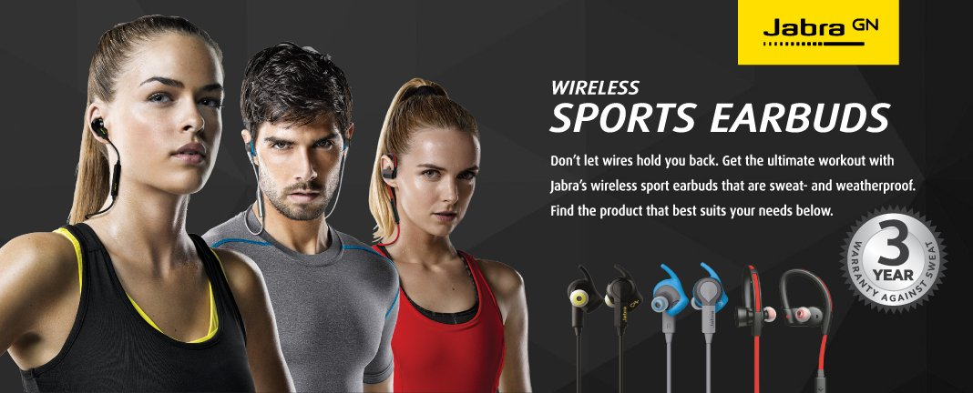 Jabra Sport 3 ปี