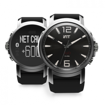 iFit Duo - Space Black Round