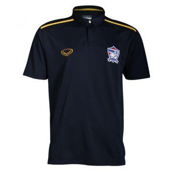แกรนด์สปอร์ตเสื้อโปโลทีมชาติ 2016 ( สีกรม ) รหัสสินค้า : 023960