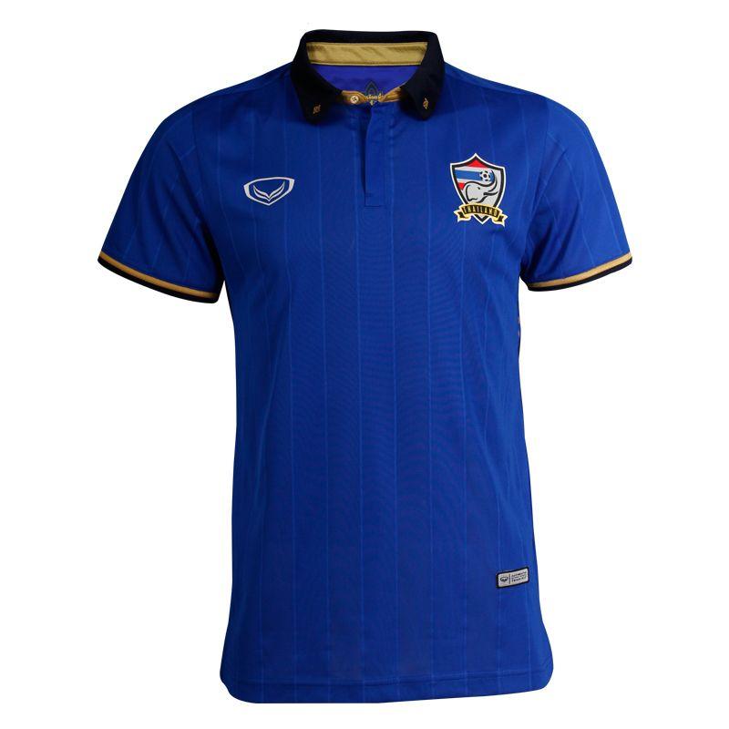 แกรนด์สปอร์ตเสื้อฟุตบอลทีมชาติไทย 2016 (สีน้ำเงิน) รหัสสินค้า : 038272