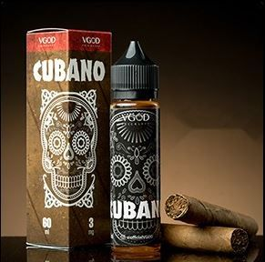 น้ำยาบุหรี่ไฟฟ้า VGOD Cubano