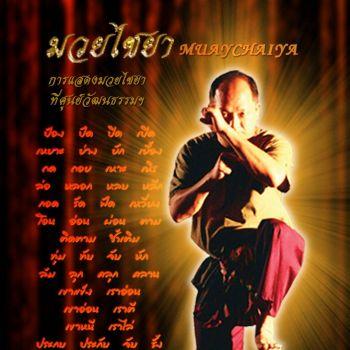 DVD การแสดงมวยไชยา Muay Chaiya Show
