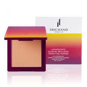 Srichand Luminescence Glowing Brilliance Perfecting Powder  ลูมิเนสเซนส์ โกลว์อิง บริเลี่ยน เพอร์เฟคติ้ง พาวเดอร์