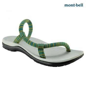 Montbell : Sock-on sandals comfort  Grey/Green