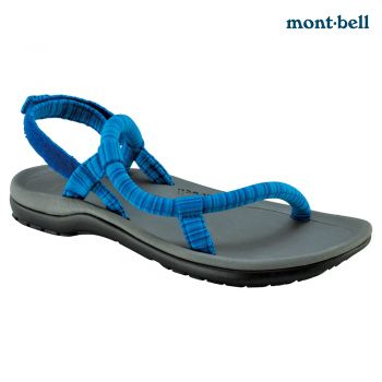Montbell : Lock-on sandals comfort  Grey/Blue