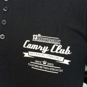 เสื้อโปโล 13 ปี Camry Club